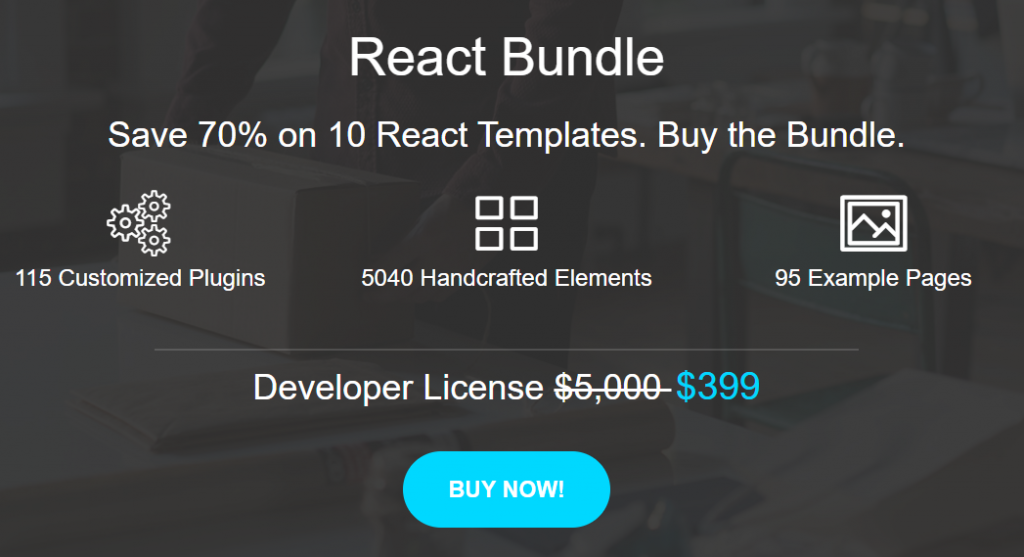 React Template Bundle