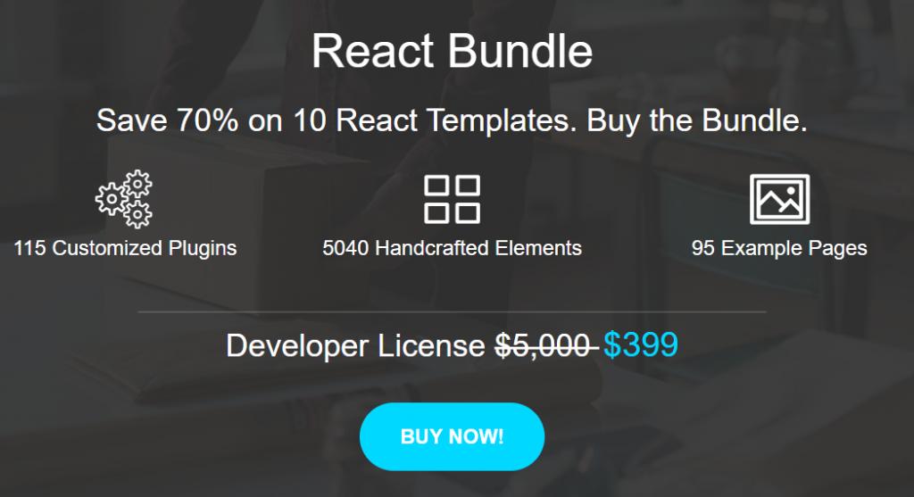 React Template Bundle