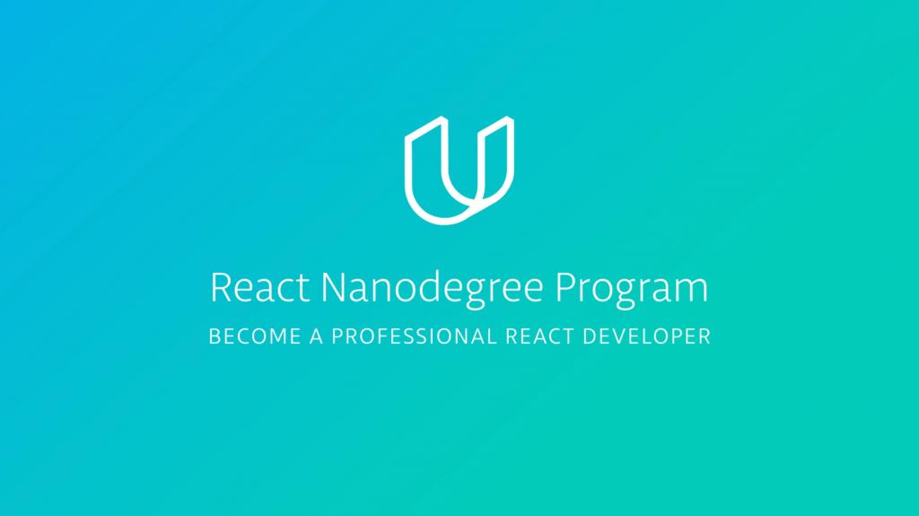 React Nanodegree Program by Udacity